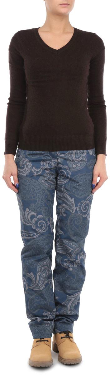 ПуловерB135707Элегантный женский пуловер Baon, выполнен из трикотажа с добавлением ангоры, благодаря чему имеет нежную поверхность и гарантирует комфортный уровень поддержания тепла. Модель с V-образным вырезом и длинными рукавами. Низ и манжеты изделия выполнены мелкой резинкой. Стильный и универсальный пуловер - отличный выбор для повседневного ношения.