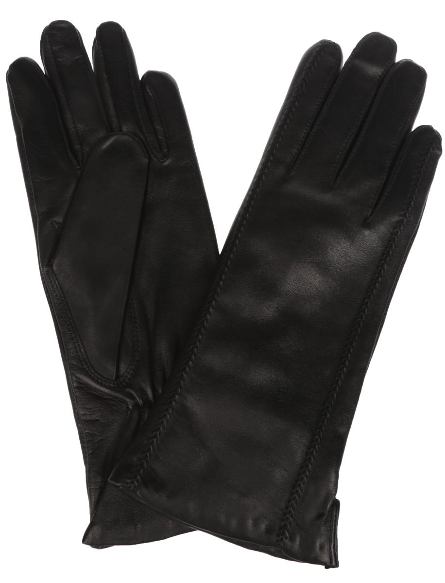 ПерчаткиIS02804-shКлассические женские перчатки Eleganzza идеально подойдут для модниц с миниатюрными ручками. Перчатки выполнены из необыкновенно мягкой и приятной на ощупь кожи ягненка, а их подкладка - из шерсти с добавлением кашемира. Лицевая сторона оформлена декоративной прострочкой в тон изделия. Тыльная сторона дополнена аккуратным боковым разрезом и резинкой для оптимальной посадки модели на руке. Потрясающие женские перчатки Eleganzza подойдут романтичным особам с тонким вкусом. Но самое главное - они защитят руки от холода и ветра, сохраняя их красоту.