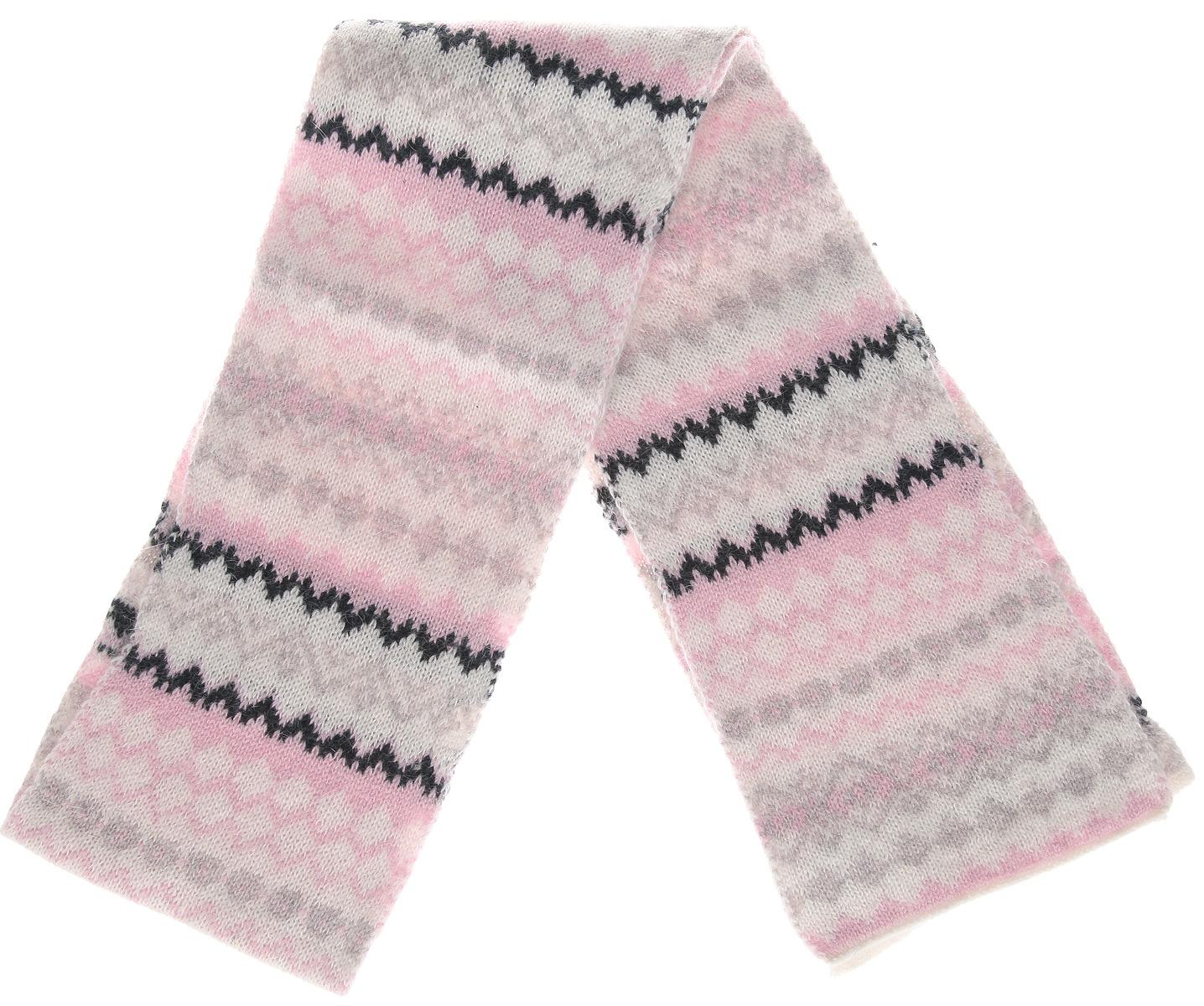 Шарф женский. SC-142/055AYSC-142/055AY-5404Стильный женский шарф Sela отлично дополнит ваш образ в холодную погоду. Сочетание нейлона, шерсти и ангоры прекрасно сохраняет тепло и обеспечивает удобную посадку. Великолепный шарф прекрасно подойдет к верхней одежде и подчеркнет вашу индивидуальность.