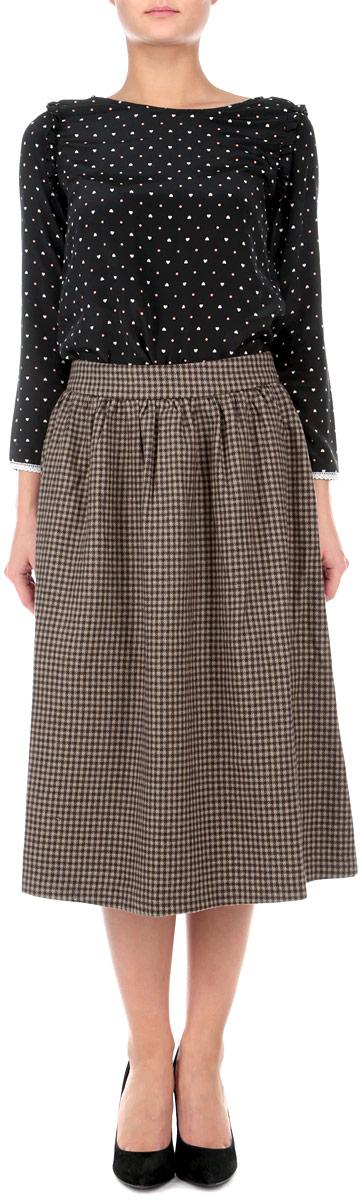 ЮбкаB475517Оригинальная юбка Baon выполнена из высококачественного материала, она обеспечит вам комфорт и удобство при носке. Очаровательная юбка дополнена пришивным поясом и застегивается на застежку-молнию сзади. Стильная юбка-миди, оформленная принтом в мелкую клетку, выгодно освежит и разнообразит любой гардероб. Создайте женственный образ и подчеркните свою яркую индивидуальность! Классический фасон и оригинальное оформление этой юбки сделают ваш образ непревзойденным.