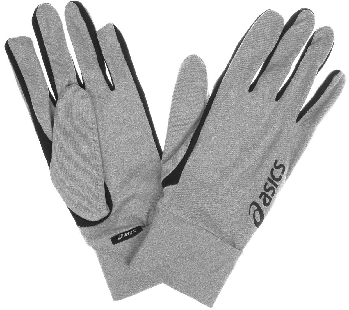 Перчатки для бега Basic Glove. 114700114700-0392Мягкие и легкие перчатки Asics Basic Glove защитят вас от холода и непогоды во время интенсивной тренировки. Ветронепроницаемая и влагоотводящая ткань, а также высокие эластичные манжеты сохранят ваши руки в тепле и сухости. Модель оформлена логотипом бренда. Выделяйтесь из толпы благодаря стильному дизайну перчаток.