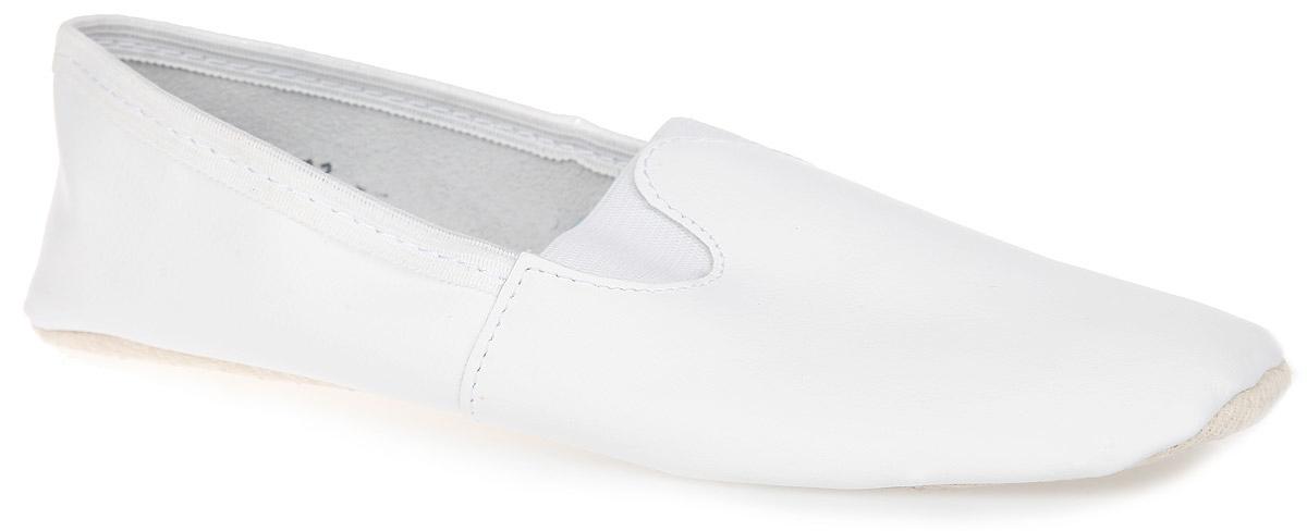 Чешки5-515611402Чешки для девочки Парижская Коммуна предназначены для занятий танцами, хореографией и гимнастики. Модель изготовлена из натуральной кожи, благодаря чему они впитывают влагу и позволяют коже ног дышать. Стелька из уплотненного текстиля обеспечит комфорт и уют. Обувь фиксируются на ноге при помощи двух эластичных резинок. Подошва выполнена из ПВХ с прорезиненными вставками, предотвращающими скольжение.
