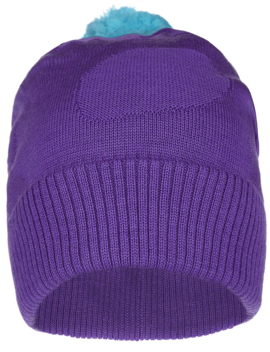 528417_0100Детская шапка-бини Reima Sapin идеально подойдет для прогулок в прохладное время года. Шапка, выполненная из шерсти и акрила, очень функциональна и универсальна, максимально сохраняет тепло. Подкладка связана из того же материала, сочетающего разные виды шерсти. Благодаря эластичной вязке, шапка плотно прилегает к голове ребенка. Шапка с отворотом дополнена пушистым помпоном контрастного цвета. Отворот связан крупной резинкой. По бокам модели предусмотрены ветронепроницаемые вставки, которые защищают маленькие ушки от холодного ветра. Изделие оформлено набивным рисунком в горошек. Классический дизайн, расцветка и отличное качество делают эту шапку незаменимым предметом детского гардероба. В ней ребенку будет тепло, уютно и комфортно. Уважаемые клиенты! Размер, доступный для заказа, является обхватом головы.