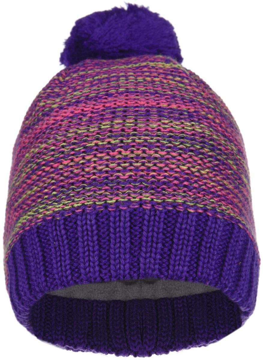 Шапка-бини детская Lassie. 728678728678_4450Детская шапка-бини Reima Lassie отлично подойдет для прогулок в холодное время года. Изделие, изготовленное из шерсти и акрила на мягкой флисовой подкладке, максимально сохраняет тепло. Благодаря эластичной вязке, шапка плотно прилегает к голове ребенка. Шапочка дополнена на макушке пушистым помпоном. По бокам модели предусмотрены ветронепроницаемые вставки, которые защищают маленькие ушки от холодного ветра. Край изделия оформлен крупной вязкой. По заднему шву шапка дополнена светоотражающей вставкой. Современный дизайн и яркая расцветка делают эту шапку модным и стильным предметом детского гардероба. В ней ребенку будет тепло, уютно и комфортно. Уважаемые клиенты! Размер, доступный для заказа, является обхватом головы.