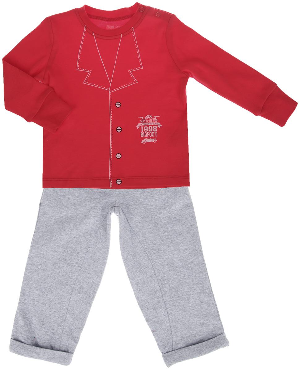 Free Age Комплект для мальчика: футболка с длинным рукавом, брюки. ZBB 25186-RM0