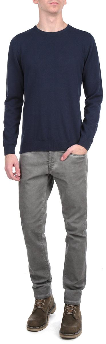 Джемпер80102776_517Стильный мужсой джемпер Broadway необычайно мягкий и приятный на ощупь, не сковывает движения, обеспечивая наибольший комфорт. Джемпер с крыглым вырезом горловины и длинными рукавами идеально гармонирует с любыми предметами одежды и будет уместен и на отдых, и на работу. Низ и манжеты изделия связаны мелкой резинкой. Такой замечательный джемпер - базовая вещь в гардеробе современного мужчины, желающего выглядеть элегантно каждый день!