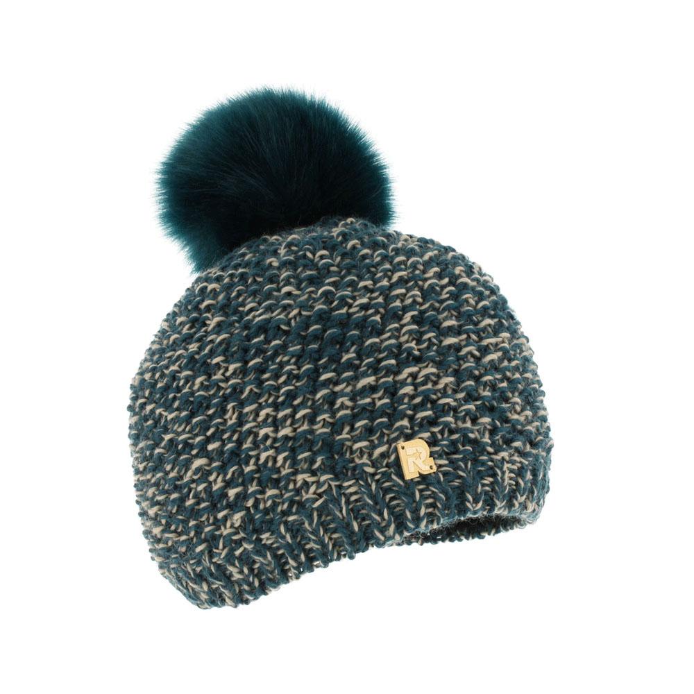 ШапкаICE 8168Теплая вязаная шапка R.Mountain идеальна для зимних холодов. Шапка крупной вязки выполнена из мягкой акриловой пряжи с добавлением шерсти, что позволяет ей великолепно сохранять тепло и обеспечивает высокую эластичность, и удобную посадку. Изнутри предусмотрена мягкая плюшевая подкладка. Шапка оформлена фактурной вязкой и дополнена пушистым помпоном из искусственного меха. Изделие украшено небольшим декоративным элементом в виде логотипа бренда. Такая шапка станет модным и стильным дополнением вашего зимнего гардероба, а приятный на ощупь материал подарит ощущение тепла и комфорта.