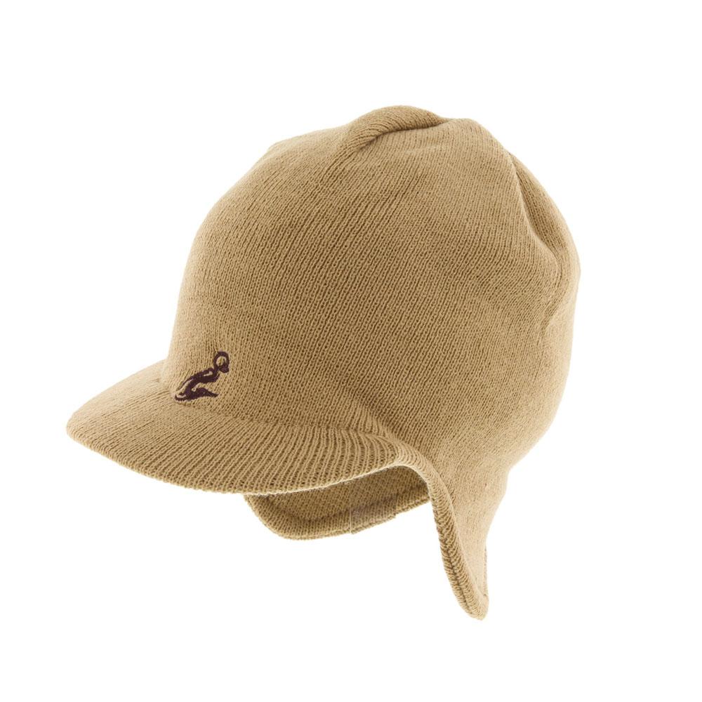 Шапка. 334090334090Вязаная шапка Ignite идеально подойдет для вас в прохладное время года. Изготовленная из акрила, она мягкая и приятная на ощупь, обладает хорошими дышащими свойствами и максимально удерживает тепло. Шапочка двойная, плотно облегает голову, благодаря чему надежно защищает от ветра и мороза. Модель с небольшим твердым козырьком имеет фигурный край на затылке. Спереди изделие украшено вышивкой. Такой стильный и теплый аксессуар дополнит ваш образ и подчеркнет индивидуальность! Уважаемые клиенты! Размер, доступный для заказа, является обхватом головы.
