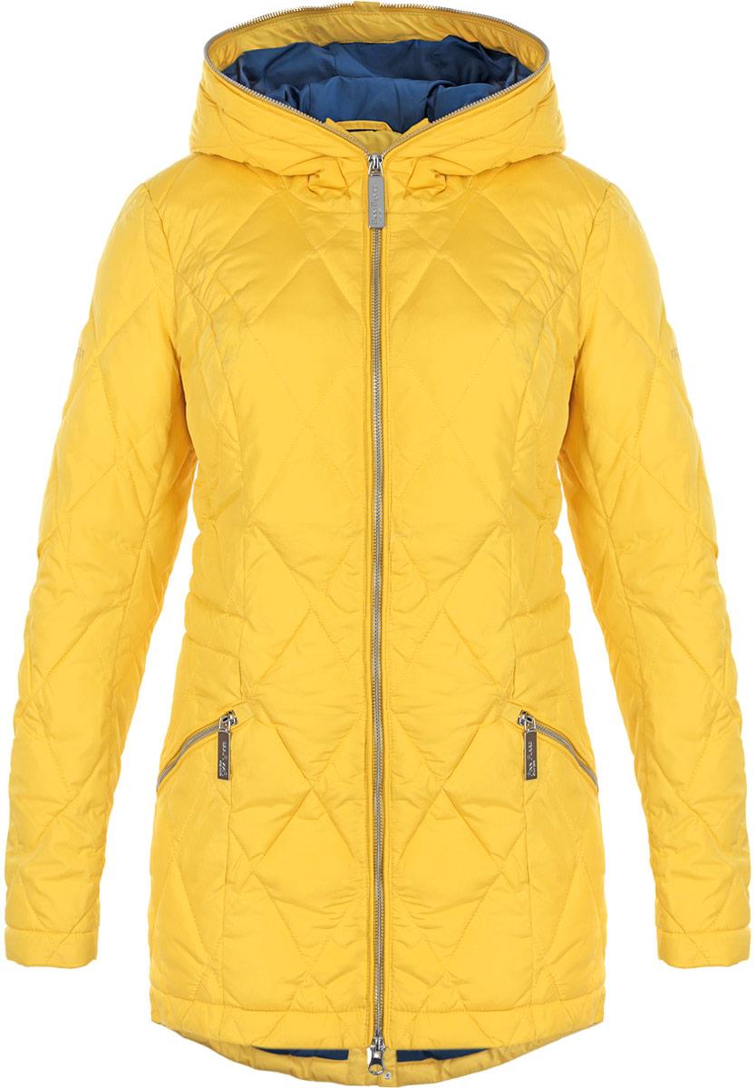 Куртка женская. W15-32003W15-32003Стильная женская куртка Finn Flare отлично подойдет для холодной погоды. Модель приталенного силуэта с несъемным капюшоном и длинными рукавами застегивается на застежку-молнию по всей длине. Куртка оформлена эффектной стежкой и дополнена двумя втачными карманами на молнии. С внутренней стороны по линии талии модель дополнена эластичной резинкой на стопперах. Эта модная куртка послужит отличным дополнением к вашему гардеробу.