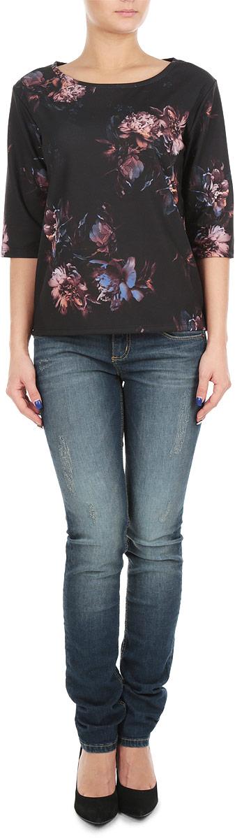 Блуза женская. SBL0399GRSBL0399GRСтильная женская блуза Top Secret, выполненная из эластичного полиэстера, подчеркнет ваш уникальный стиль и поможет создать оригинальный женственный образ. Блузка с рукавами до локтя и круглым вырезом горловины оформлена красочным цветочным принтом. Легкая блуза идеально подойдет для жарких летних дней. Такая блузка будет дарить вам комфорт в течение всего дня и послужит замечательным дополнением к вашему гардеробу.