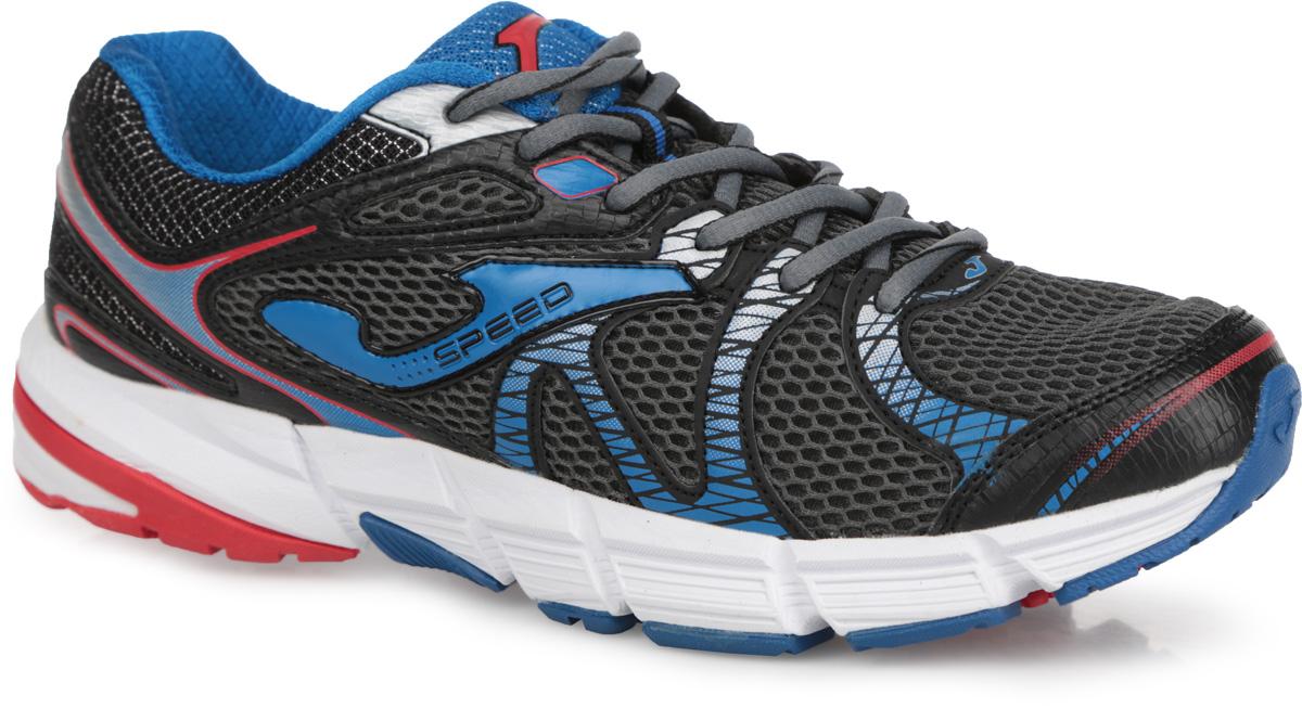 R.SPEEDS-514Мужские кроссовки Speed от Joma идеально подходят для умеренных тренировок и спортивной ходьбы. Верх выполнен из сетчатого текстиля и дополнен вставками из синтетической кожи. На языке, на заднике и по бокам изделие оформлено фирменным логотипом. Стелька из EVA с текстильной поверхностью обеспечивает комфорт. Шнуровка надежно фиксирует модель на ноге. Носочная и пяточная части оснащены вставками, которые защищают ногу. Внутренняя конструкция модели выполнена по технологии перчатки, которая оборачивает вашу стопу и помогает работе связок и сухожилий. Гибкая подошва с системой стабилизации Pulsor Dio обеспечивая отличную амортизацию. Рельефный рисунок подошвы предотвращает скольжение. В таких кроссовках вашим ногам будет комфортно и уютно.