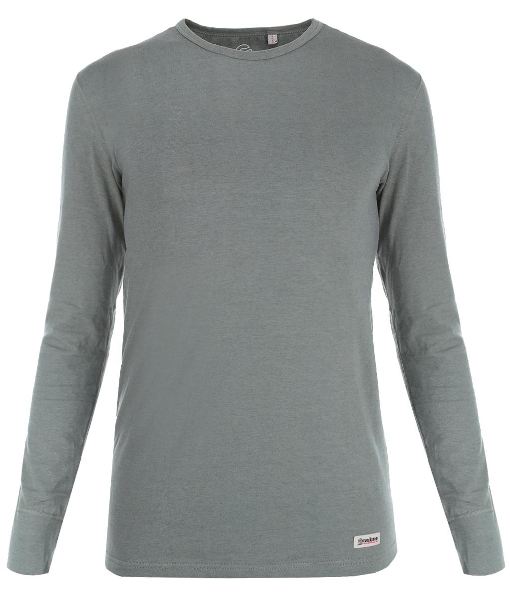 Термобелье кофта21-0470-SМужская футболка с длинным рукавом Guahoo Everyday подходит для повседневной носки в прохладную погоду. В состав модели входит натуральная шерсть, что придает ей согревающий эффект, в тоже время полотно достаточно тонкое. Хлопок - это натуральное волокно, гипоаллергенное, долговечное в носке, не электризуется, приятное на ощупь, позволяет коже дышать. Добавление эластана позволяет изделию облегать фигуру, не дает полотну растягиваться и образовывать пузыри на локтях. Модель имеет облегающий силуэт. Футболка с длинными рукавами и круглым вырезом горловины оформлена небольшой нашивкой с названием бренда. Рукава дополнены широкими трикотажными манжетами. Рекомендуемый температурный режим от +5°С до -10°С.