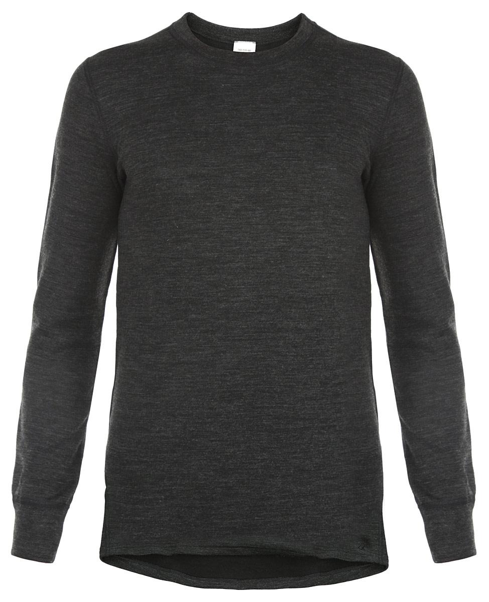 L21-2010 SМужское термобелье - футболка с длинным рукавом Laplandic идеально подойдет для вас в холодное время года. Модель имеет двухслойную структуру, она мягкая и приятная на ощупь. Идеальное сочетание различных видов пряжи с добавлением натуральной шерсти во внешнем слое, а также специальное плетение обеспечивают максимальное сохранение тепла. Внутренний слой изделия выполнен из полиэстера, который способствует эффективному выведению влаги. Плоские швы повышают прочность модели и создают дополнительный комфорт. Начес на внутренней стороне полотна лучше сохраняет тепло за счет дополнительной воздушной прослойки (плотность - 275 г/м2). Рукава модели с круглым вырезом горловины дополнены трикотажными эластичными манжетами. Спинка изделия удлинена. Такая футболка станет незаменимым дополнением к вашему гардеробу, она отлично подходит для повседневной носки в прохладную и холодную погоду.