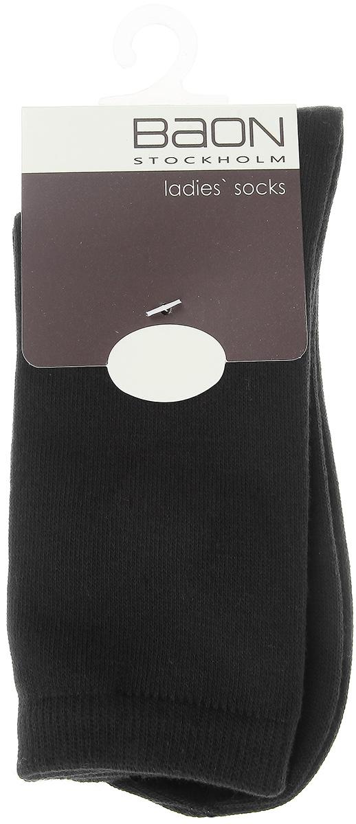 Носки женские, 2 пары. B395523B395523Удобные женские носки Baon, изготовленные из хлопка с добавлением полиэстера, идеально подойдут вам. Благодаря содержанию хлопка в составе, они мягкие и приятные на ощупь, позволяют коже дышать. Широкая эластичная резинка плотно облегает ногу, не сдавливая ее, обеспечивая комфорт и удобство. В комплект входят две пары носков, оформленных принтом в мелкий горошек.