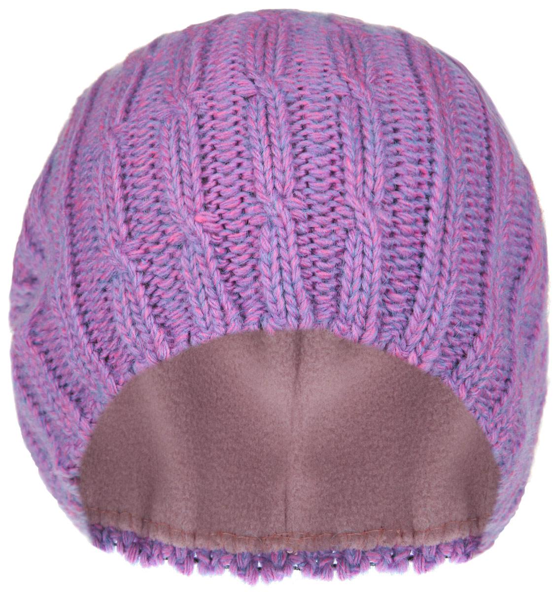 RWH6501/2-005Отличная вязаная шапка-бини от Elfrio в стиле сasual. Изготовлена из меланжированной акриловой пряжи с флисовой подкладкой. Модель прекрасно подойдет для женщин, ценящих комфорт и красоту. Незаменимая вещь в прохладную погоду.