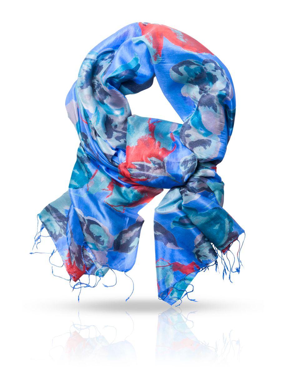 Палантин. S30-BIGFLOWERS30-BIGFLOWER/BLUEОчаровательный палантин Michel Katana подчеркнет ваш неповторимый образ. Изделие выполнено из натурального шелка и оформлено оригинальным принтом. Материал мягкий и приятный на ощупь, хорошо драпируется. Края палантина декорированы кисточками скрученными в жгутики. Этот модный аксессуар женского гардероба гармонично дополнит образ современной женщины, следящей за своим имиджем и стремящейся всегда оставаться стильной и элегантной.