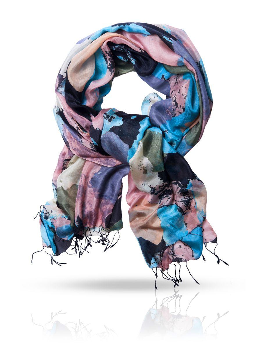 Палантин. S-CANVASS-CANVAS/BLACKОчаровательный палантин Michel Katana подчеркнет ваш неповторимый образ. Изделие выполнено из натурального шелка и оформлено оригинальным принтом. Материал мягкий и приятный на ощупь, хорошо драпируется. Края палантина декорированы кисточками скрученными в жгутики. Этот модный аксессуар женского гардероба гармонично дополнит образ современной женщины, следящей за своим имиджем и стремящейся всегда оставаться стильной и элегантной.