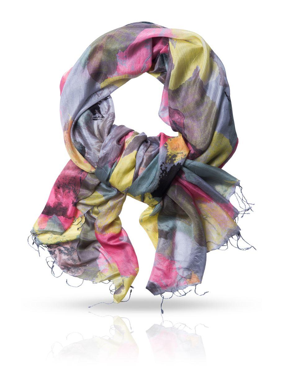 ПалантинS-CANVAS/BLACKОчаровательный палантин Michel Katana подчеркнет ваш неповторимый образ. Изделие выполнено из натурального шелка и оформлено оригинальным принтом. Материал мягкий и приятный на ощупь, хорошо драпируется. Края палантина декорированы кисточками скрученными в жгутики. Этот модный аксессуар женского гардероба гармонично дополнит образ современной женщины, следящей за своим имиджем и стремящейся всегда оставаться стильной и элегантной.