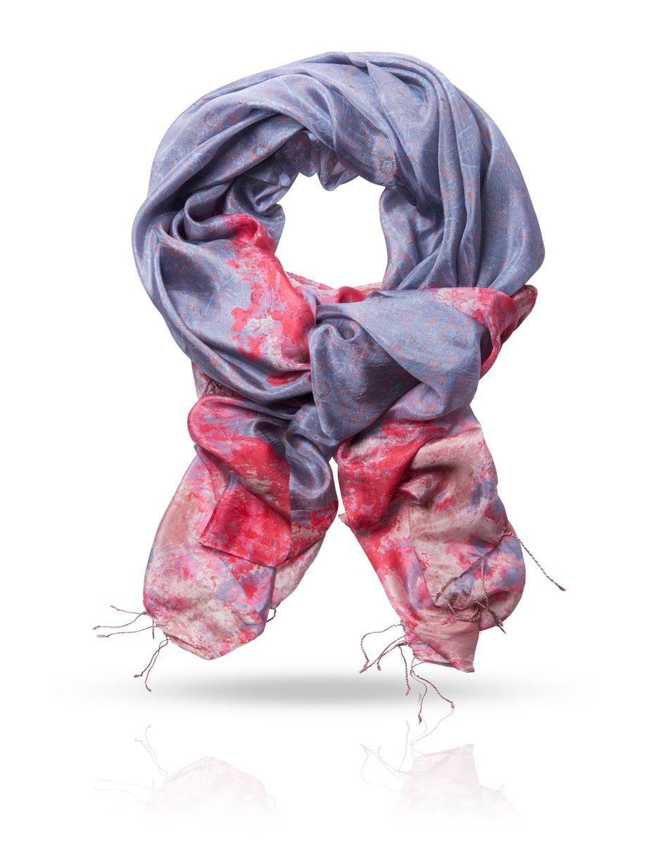Палантин. S-CASCADES-CASCADE/LILACОчаровательный палантин Michel Katana подчеркнет ваш неповторимый образ. Изделие выполнено из натурального шелка и оформлено оригинальным принтом. Материал мягкий и приятный на ощупь, хорошо драпируется. Края палантина декорированы кисточками скрученными в жгутики. Этот модный аксессуар женского гардероба гармонично дополнит образ современной женщины, следящей за своим имиджем и стремящейся всегда оставаться стильной и элегантной.