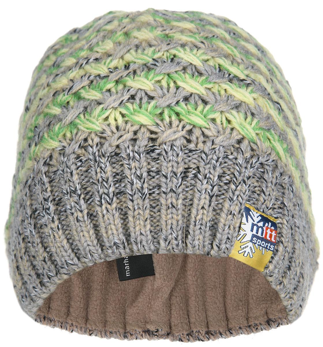 Шапка женская. MLH4963/2MLH4963/2Теплая женская шапка Marhatter - отличное решение для зимних прогулок на свежем воздухе и активного отдыха. Шапка изготовлена из шерсти и акрила с утеплителем из мягкого флиса. Модель выполнена крупной вязкой. Шапка легкая, приятная на ощупь и отлично защищает от зимнего холода. Уважаемые клиенты! Размер, доступный для заказа, является обхватом головы.