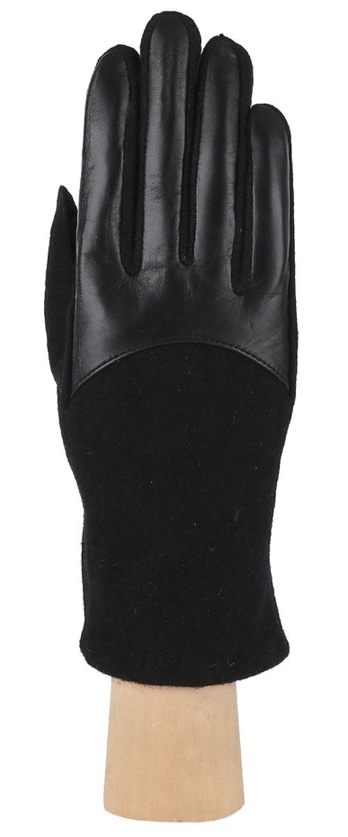 Перчатки женские. 3.93.9-1Элегантные женские перчатки Fabretti станут великолепным дополнением вашего образа и защитят ваши руки от холода и ветра во время прогулок. Перчатки выполнены из высококачественного комбинированного материала, что позволяет им надежно сохранять тепло. Манжеты с тыльной стороны присборены на эластичные резинки. Такие перчатки будут оригинальным завершающим штрихом в создании современного модного образа, они подчеркнут ваш изысканный вкус и станут незаменимым и практичным аксессуаром.