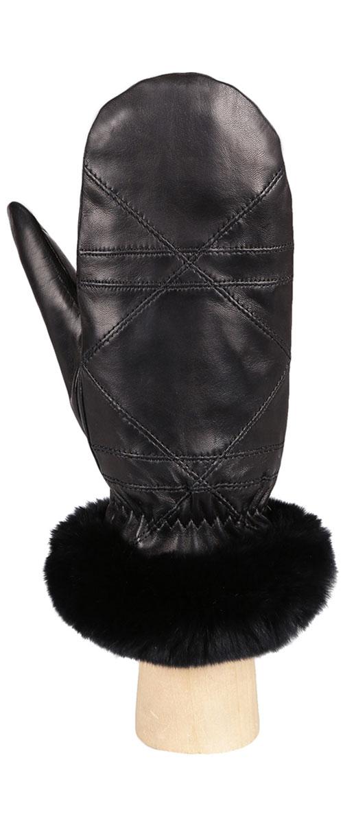 Варежки женские. 9.659.65-1Стильные женские варежки Fabretti не только защитят ваши руки от холода, но и прекрасно дополнят ваш модный образ. Модель выполнена из натуральной эфиопской кожи ягненка на подкладке из шерсти с добавлением кашемира. Модель украшена оригинальной прострочкой и меховой опушкой из натурального меха. Варежки Fabretti станут завершающим и подчеркивающим элементом вашего стиля и неповторимости.