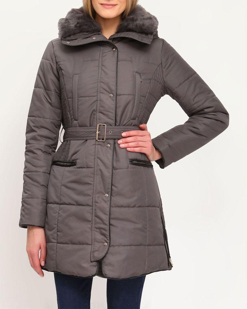 Куртка женская. SKU0630CASKU0630CAСтильная женская куртка Top Secret, выполненная из 100%-го полиэстера, согреет вас в прохладную погоду. Модель приталенного силуэта с воротником-стойкой и длинными рукавами застегивается на металлическую застежку-молнию и дополнительно ветрозащитной планкой на металлические кнопки. Изделие дополнено утепленным воротником, оформленным искусственным мехом, который при желании можно отстегнуть. Рукава модели дополнены эластичными внутренними манжетами, препятствующими проникновению холодного воздуха. По бокам куртка декорирована застежками-молниями. Спереди изделие дополнено двумя втачными карманами на молнии. Текстильный ремешок подчеркивает линию талии. Эта теплая куртка станет отличным дополнением к вашему гардеробу.