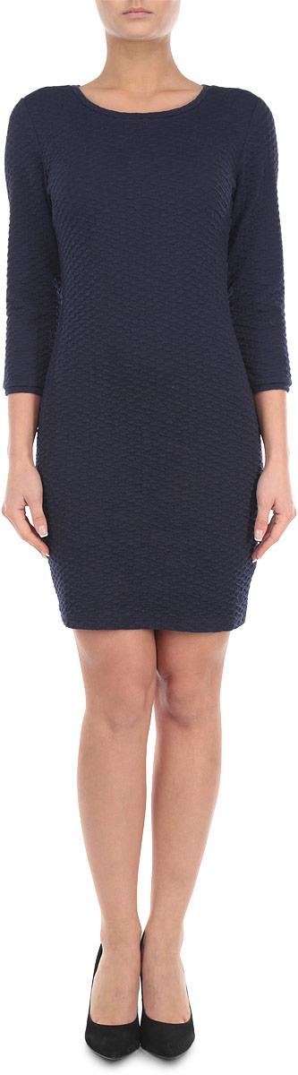 Платье. 5018870.00.715018870.00.71_6800Стильное платье Tom Tailor Denim, выполненное из высококачественного эластичного материала, приятное на ощупь, не сковывает движения, обеспечивая наибольший комфорт. Модель облегающего кроя с круглым вырезом горловины и длинными рукавами. Это модное платье подчеркнет достоинства вашей фигуры, а качественный материал подарит чувство комфорта. Платье Tom Tailor Denim станет отличным дополнением к вашему гардеробу.