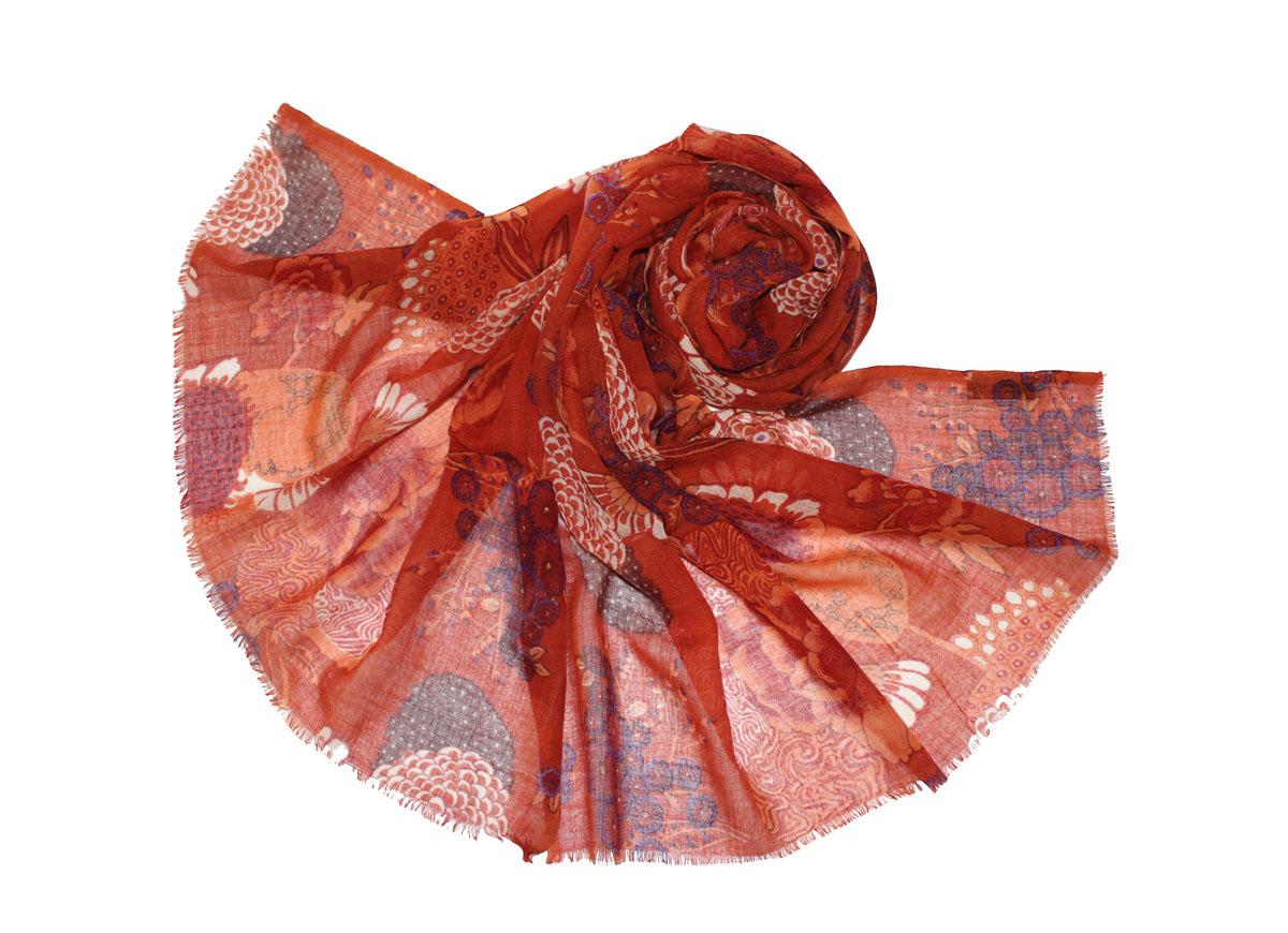 Палантин жен. 011510s011510sИзготавливается из натурального сырья с использованием натуральных красителей