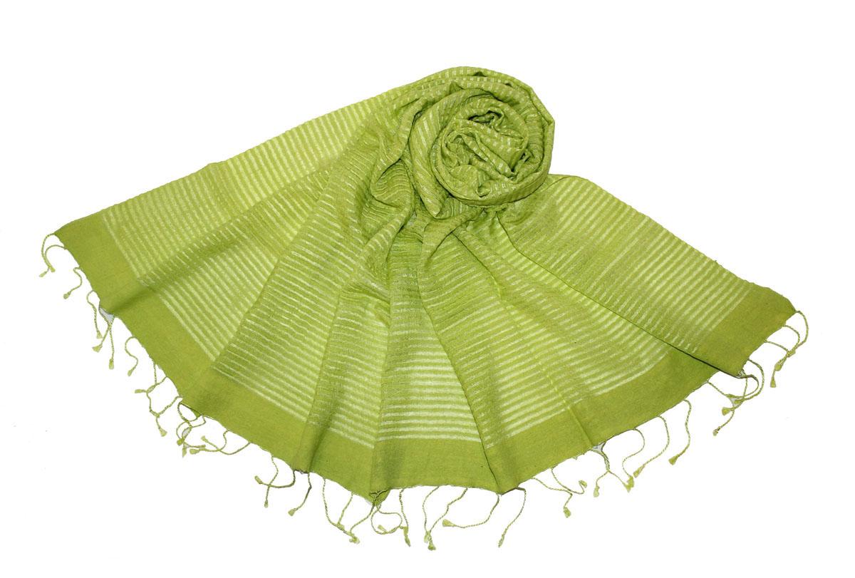 Шарф женский. 014225014225Элегантный шелковый шарф Ethnica станет изысканным, нарядным аксессуаром, который призван подчеркнуть индивидуальность и очарование женщины. Модель легкая полупрозрачная, с поперечными чередующимися полосками. Шарф выполнен из шелка с использованием натуральных красителей и по краям декорирован кистями. Этот модный аксессуар женского гардероба гармонично дополнит образ современной женщины, следящей за своим имиджем и стремящейся всегда оставаться стильной и элегантной. В этом шарфе вы всегда будете выглядеть женственной и привлекательной.