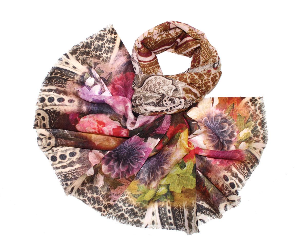 Палантин жен. 102650а102650аИзготавливается из натурального сырья с использованием натуральных красителей