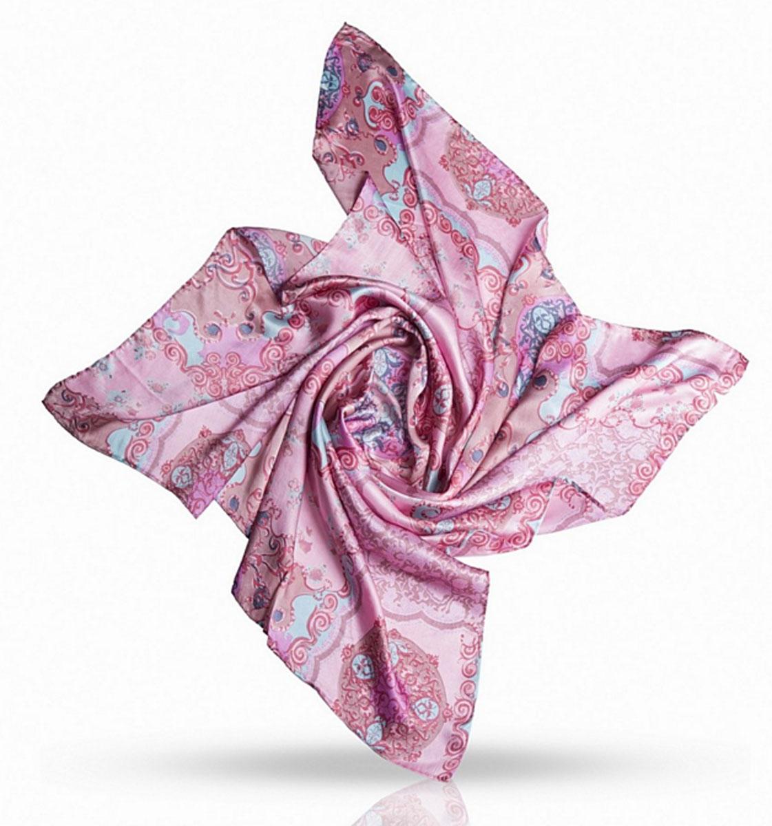 Платок женский. SS.KV-GEOMETRICSS.KV-GEOMETRIC/GREYИзумительный шелковый женский платок Michel Katana станет изысканным аксессуаром, который подчеркнет ваши индивидуальность и очарование. Модель изготовлена из 100% шелка и оформлена красивым узором. Дизайн полотна придает модели удивительно динамичное и яркое настроение. Края модели по периметру обработаны вручную. Классическая квадратная форма позволяет носить платок на шее, украшать им прическу или декорировать сумочку. Платок Michel Katana станет вашим верным спутником, а окружающие обязательно будут обращать свое восторженное внимание на вас.