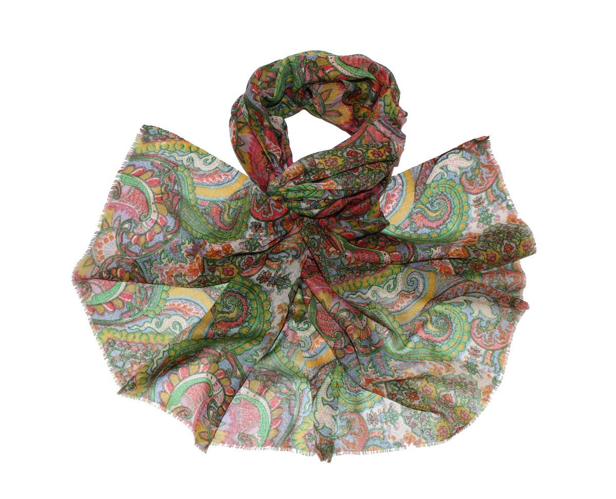 Палантин жен. 104525а104525аИзготавливается из натурального сырья с использованием натуральных красителей