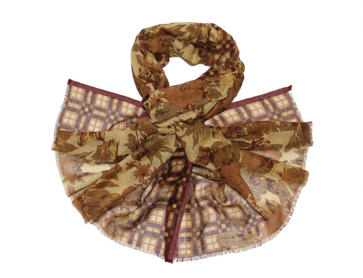 Палантин жен. 105545а105545аИзготавливается из натурального сырья с использованием натуральных красителей
