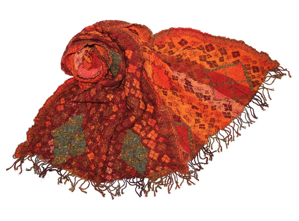 Палантин жен. 281765н281765нИзготавливается из натурального сырья с использованием натуральных красителей