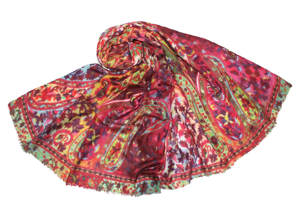 Палантин жен. 360850н - Ethnica360850нИзготавливается из натурального сырья с использованием натуральных красителей