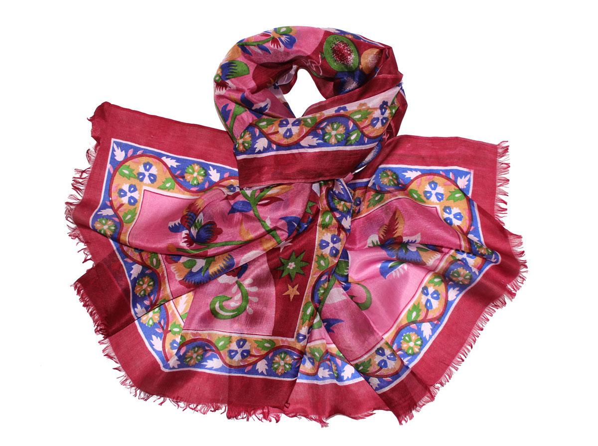 Палантин жен. 441280н441280нИзготавливается из натурального сырья с использованием натуральных красителей