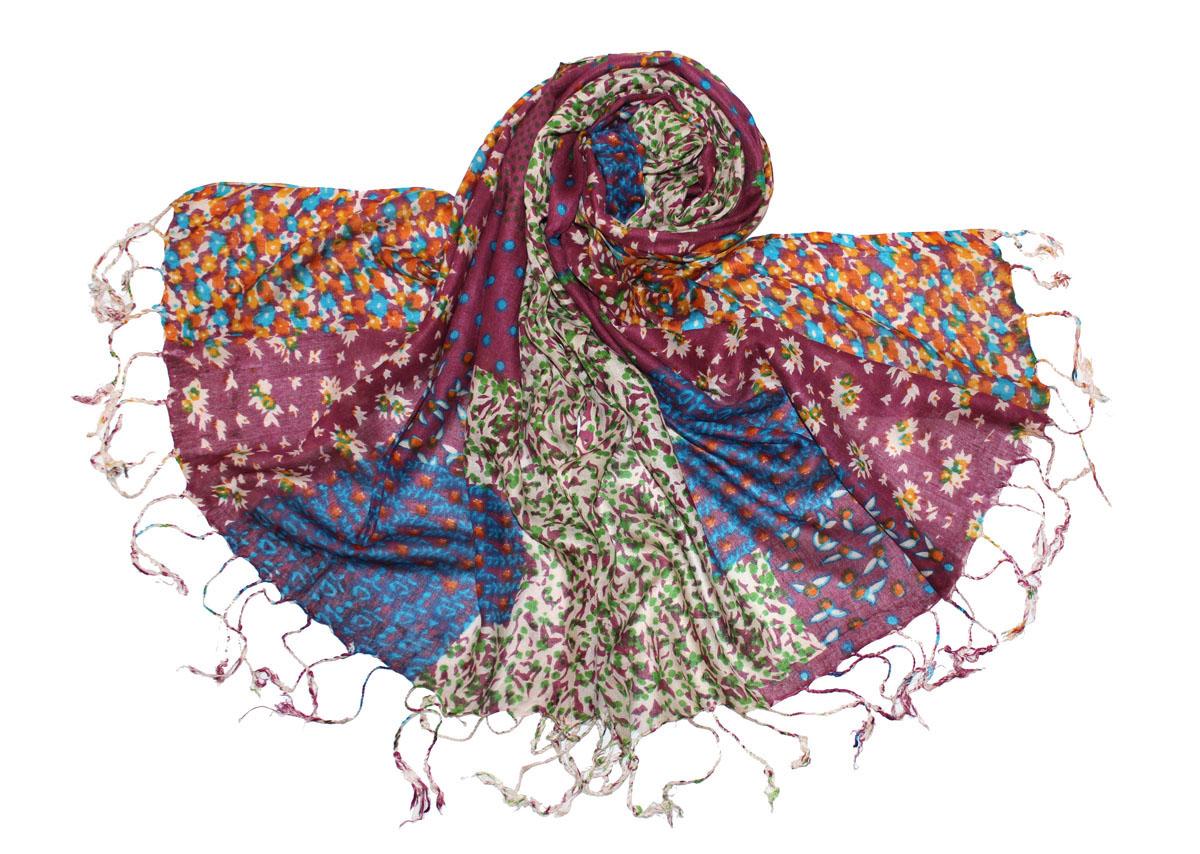 Палантин518075нИзготавливается из натурального сырья с использованием натуральных красителей