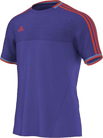 ФутболкаM36421Стильная мужская футболка Adidas Xse Az, выполненная из полиэстера, обладает высокой теплопроводностью, воздухопроницаемостью и великолепно отводит влагу от тела. Модель с короткими рукавами реглан и круглым вырезом горловины - идеальный вариант для создания образа в стиле Casual. Футболка оформлена контрастными полосками на плечах. Такая модель подарит вам комфорт в течение всего дня и послужит замечательным дополнением к вашему гардеробу.