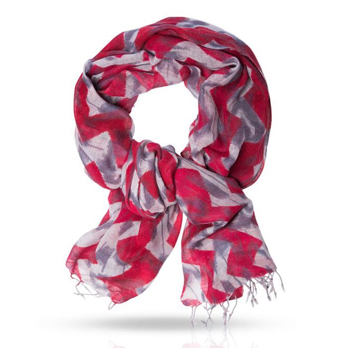 Палантин. ZW-IKKATZW-IKKAT/RED.GREYПалантин Michel Katana согреет вас в непогоду и станет достойным завершением вашего образа в холодное время года. Палантин изготовлен из 100% шерсти и оформлен оригинальным чередующимся узором зигзаг. Мягкий палантин классического кроя станет великолепным аксессуаром как для женщины, так и для мужчины. Края палантина декорированы кисточками, скрученными в жгутики. Этот модный аксессуар современного гардероба гармонично дополнит любой наряд и подчеркнет ваш изысканный вкус.