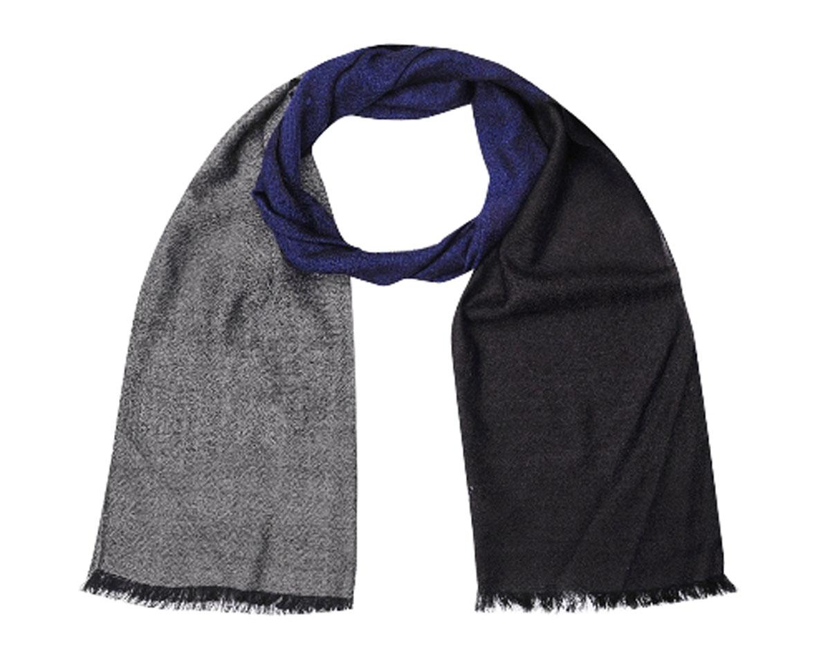 ШарфLF-11-10-8B_PurpleЭлегантный мужской шарф Leo Ventoni согреет вас в холодное время года, а также станет изысканным аксессуаром, который призван подчеркнуть ваш стиль и индивидуальность. Оригинальный и стильный шарф выполнен из высококачественной 100% мерсеризованной шерсти, оформлен контрастными полосками и украшен тонкой бахромой по краю. Такой шарф станет превосходным дополнением к любому наряду, защитит вас от ветра и холода и позволит вам создать свой неповторимый стиль