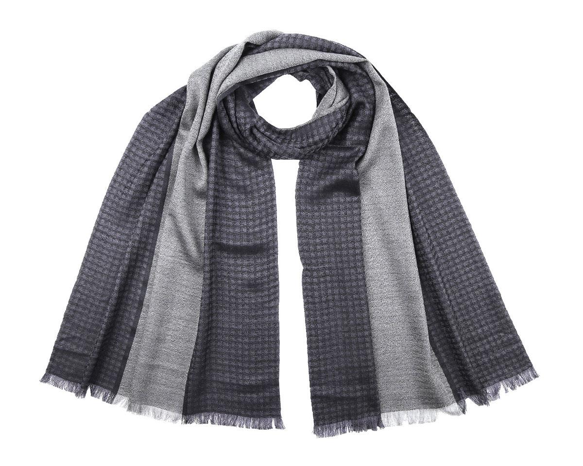 ШарфBG15163Мужской шарф Fabretti станет стильным аксессуаром, который призван подчеркнуть вашу индивидуальность. Выполненный из шерсти, он теплый, очень мягкий, имеет приятную на ощупь текстуру. Изделие оформлено принтом с сочетанием клетки и полоски, а по краям декорировано бахромой. Такой шарф отлично дополнит любой образ и подарит вам ощущение комфорта и уюта.