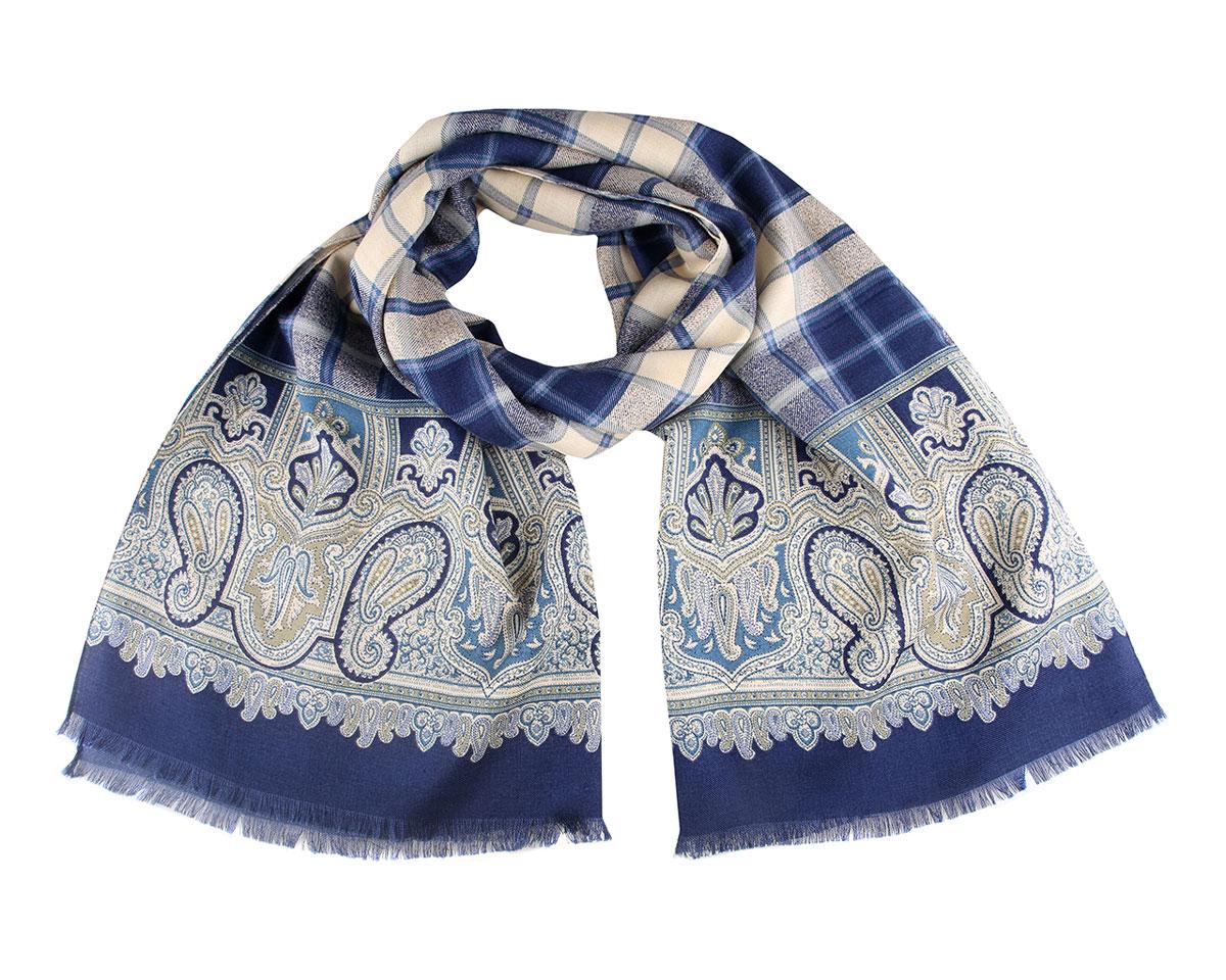 ШарфA101874-6Модный женский шарф Leo Ventoni подарит вам уют и станет стильным аксессуаром, который призван подчеркнуть вашу индивидуальность и женственность. Тонкий шарф выполнен из высококачественной шерсти с добавлением шелка, он очень мягкий и приятный на ощупь. Модель оформлена оригинальным этническим орнаментом. Такой шарф надежно защитит вас от холода и ветра. Этот модный аксессуар гармонично дополнит образ современной женщины, следящей за своим имиджем и стремящейся всегда оставаться стильной и элегантной. Такой шарф украсит любой наряд и согреет вас в непогоду, с ним вы всегда будете выглядеть изысканно и оригинально.