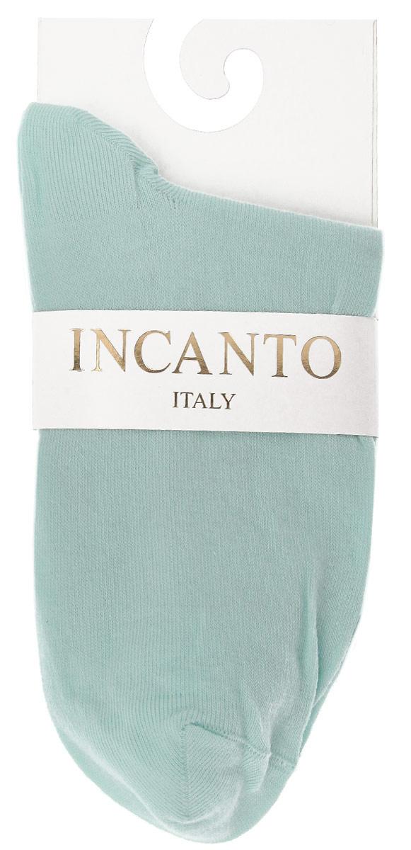 НоскиIBD733004_AquaЖенские носки Incanto Collant изготовлены из высококачественного сырья. Носки очень мягкие на ощупь, а резинка плотно облегает ногу, не сдавливая ее, благодаря чему вам будет комфортно и удобно. Усиленная пятка и мысок обеспечивают надежность и долговечность.