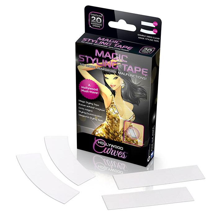 ������� ��� �������� Magic Styling Tape, 20 ���. HC001 - Hollywood CurvesHC001������� ��� �������� Hollywood Curves Magic Styling Tape ������� ��� �������� ������ � �������� ��������. ����� ������� �� 20 ��� ��������������� �������� �� ������������ ������������� ������. ������� - ����������� ��������, ������� ������ ������������ ����������, ���� �� ������ ������ � �������� ��������, �� ��� �� �������� ������ ������� � ������� �����. ������� ����� �� ����, �� ������� ������� �����������, ��������� ���������. ������� �������� ������������. � ����� ������ 10 ��� ������ � 10 ��� ������ ������������ ��������.