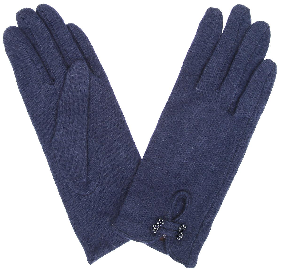 Перчатки женские. LB-PH-55LB-PH-55Стильные женские перчатки Labbra не только защитят ваши руки от холода, но и станут великолепным украшением. Перчатки выполнены из шерсти с добавлением акрила и ангоры. Модель оформлена декоративным вырезом с планками, отделанными бисером. Нижний край перчатки и разрез на лицевой стороне окантованы материалом перчатки. В настоящее время перчатки являются неотъемлемой частью одежды, вместе с этим аксессуаром вы обретаете женственность и элегантность. Перчатки станут завершающим и подчеркивающим элементом вашего стиля и неповторимости.
