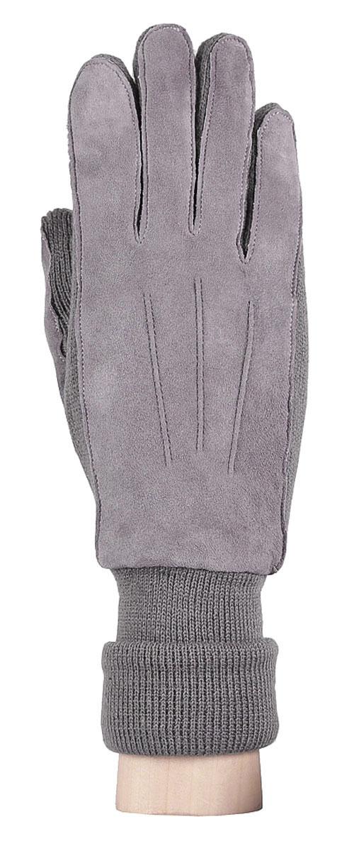Перчатки женские. 42.142.1-1Женские перчатки Fabretti оригинального исполнения станут великолепным дополнением вашего образа и защитят ваши руки от холода и ветра во время прогулок. Перчатки изготовлены из высококачественного комбинированного материала (замши и трикотажа), что позволяет им надежно сохранять тепло. Они мягкие и идеально сидят на руке и хорошо тянутся. Перчатки оформлены декоративной прострочкой, а манжеты дополнены широкими отворотами и с тыльной стороны присборены на эластичную резинку. Такие перчатки будут оригинальным завершающим штрихом в создании современного модного образа, они подчеркнут ваш изысканный вкус и станут незаменимым и практичным аксессуаром.