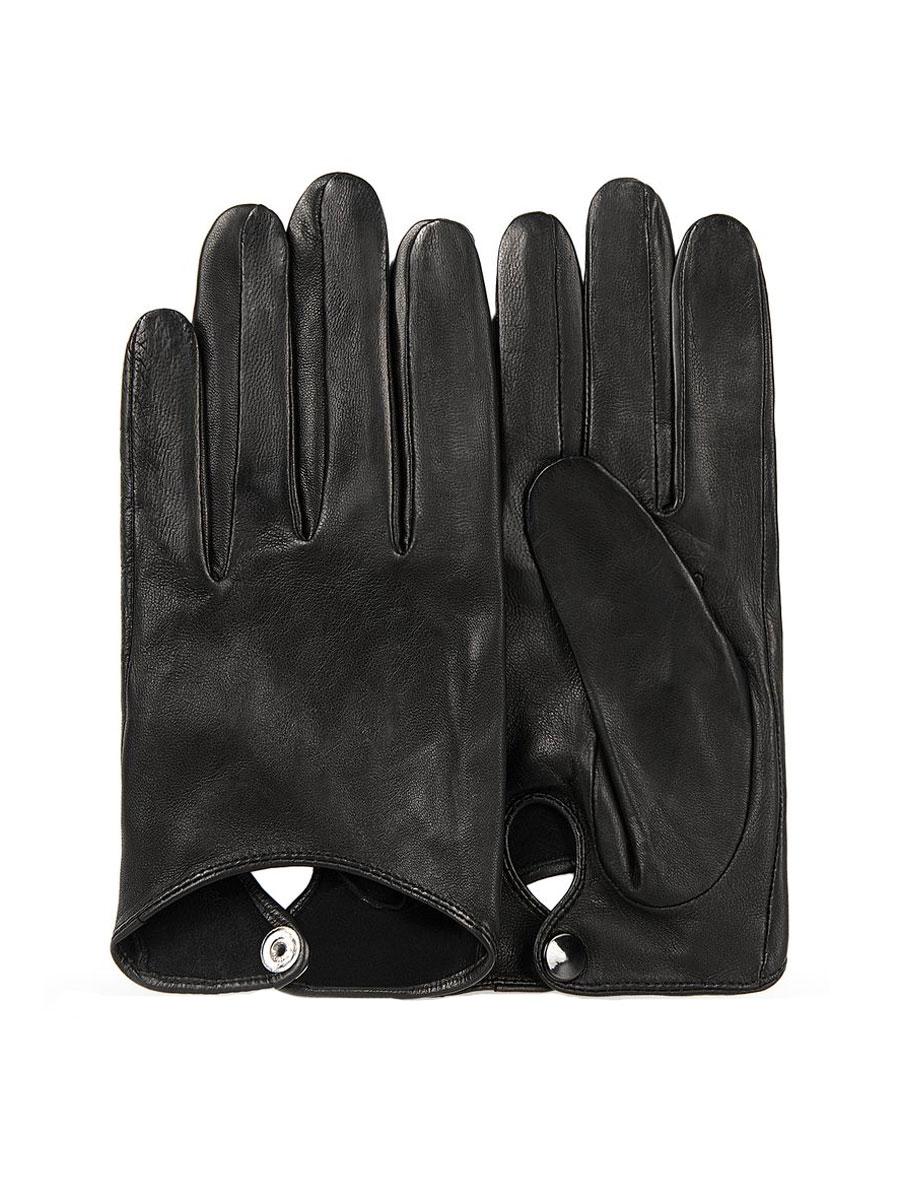 Перчатки. 7IAL7IAL/BLСтильные укороченные перчатки Dali Exclusive, изготовленные из натуральной кожи ягненка, станут стильным дополнением вашего образа. На тыльной стороне изделие застегивается на кнопку. Такие перчатки станут достойным элементом вашего стиля и сохранят тепло ваших рук.