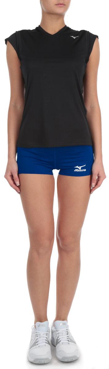 Шорты для волейбола женские Premium Womens Tight. V2EB4701V2EB4701_14Женские шорты для волейбола Mizuno Premium Womens Tight, изготовленные из 100% полиэстера, необычайно мягкие и приятные на ощупь, не сковывают движения, не раздражают даже самую нежную и чувствительную кожу, обеспечивая наибольший комфорт. Шорты на талии имеют широкую эластичную резинку, регулируемую скрытым шнурком. Оформлено изделие небольшой термоаппликацией в виде логотипа бренда. Технология Dynamotion Fit обеспечивает лучшую посадку и свободу движений. Влаговыводящая ткань DryLite и плоские швы Blindstitch делают эти шорты удобными для занятия любимым видом спорта.