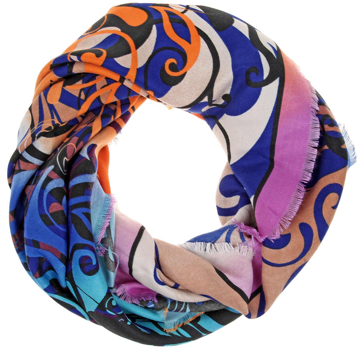 ПлатокBH-11531-5Элегантный платок от Sophie Ramage внесет изысканные нотки в ваш образ. Модель выполнена из модала с добавлением кашемира и декорирована изумительным орнаментом. Края платка оформлены бахромой. Этот модный аксессуар женского гардероба гармонично дополнит образ современной женщины, следящей за своим имиджем и стремящейся всегда оставаться стильной и женственной.
